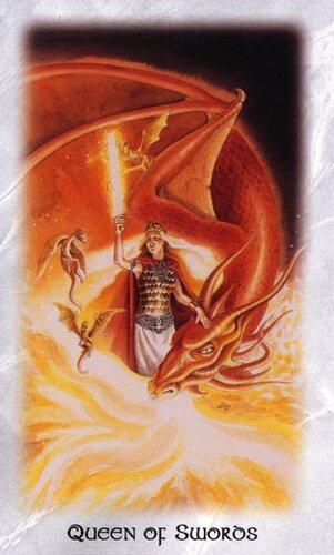 Celtic Dragon Queen of Swords