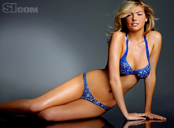 Kate Upton Body Paint   Sports Illustrated