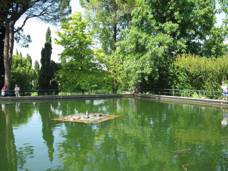 В Парке Сигурта.Черепаший пруд.