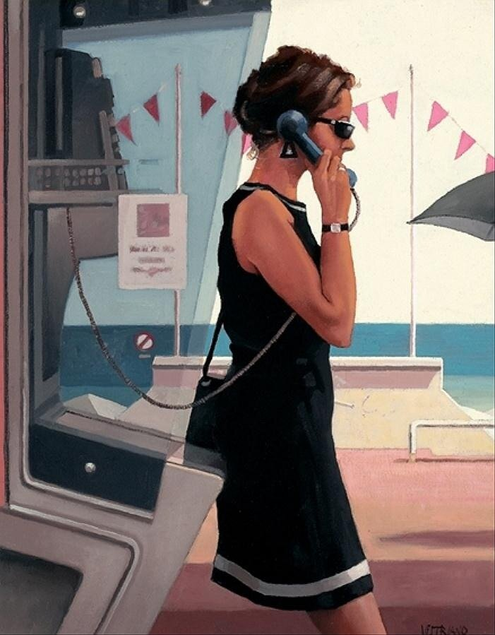 Her Secret Life, by Jack Vettriano