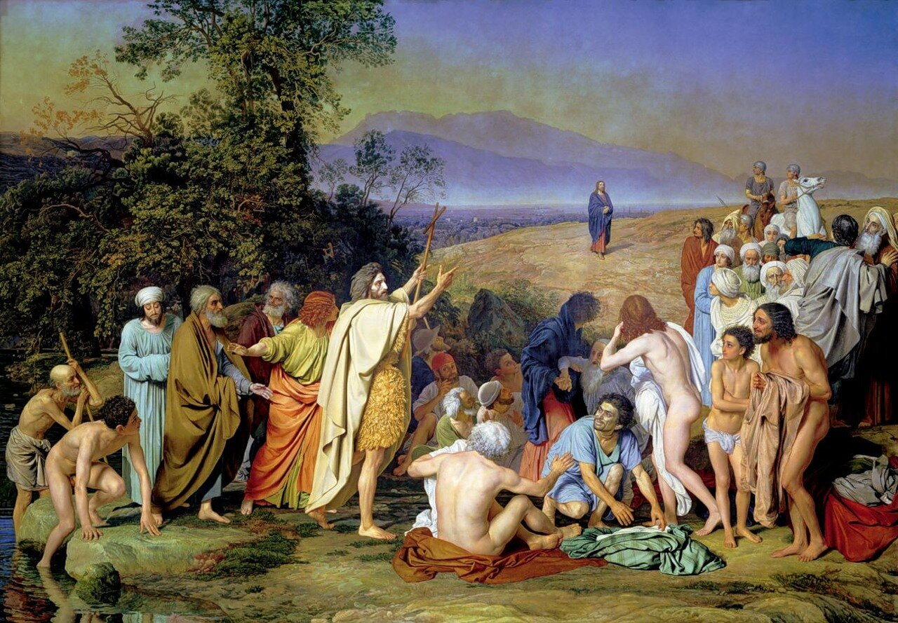 А. Иванов. Явление Христа народу. (18361857)