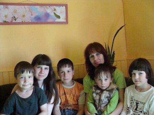 Многодетная семья Галкиных