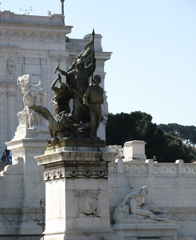 Рим. Монумент Витторио Эмануила II (Vittoriano)