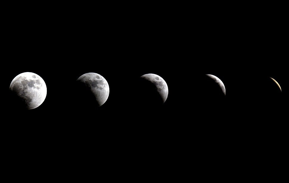 Total lunar eclipse - June 15, 2011