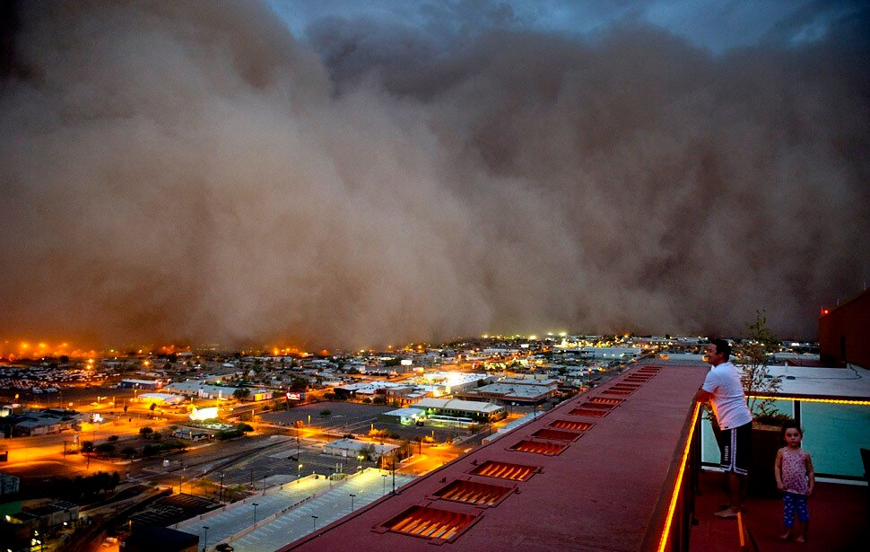 MLB: Dust Storm hits Chase Field