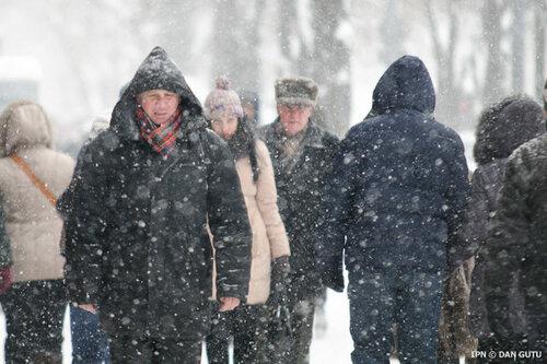 Врачи в Молдове напоминают об опасности обморожения