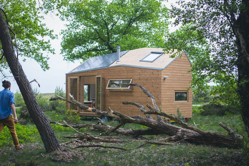 Небольшой самодостаточный домик в Нидерландах