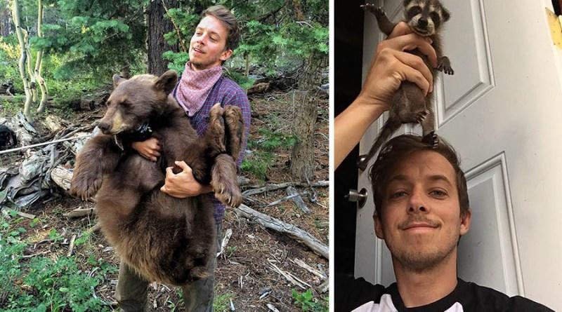 Настоящий доктор Дулиттл: ученый играет с медведями, енотами и китами