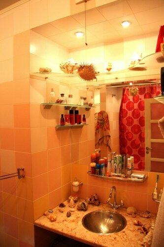 016. ванная комната, мраморная столешница, умывальник