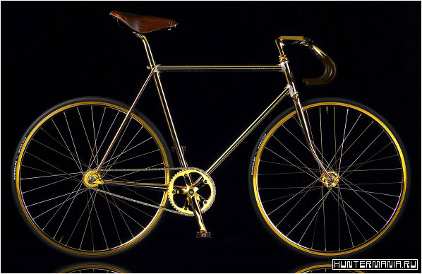 Aurumania - самый дорогой велосипед из золота