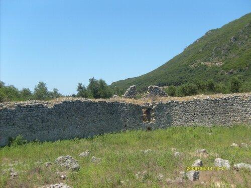 Крепости острова Корфу. Гардики.