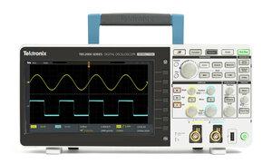 Цифровой осциллограф TBS2102 - Вид спереди