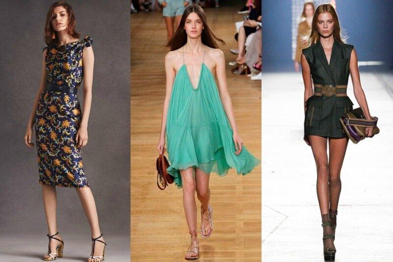 Какие платья модные этим летом
