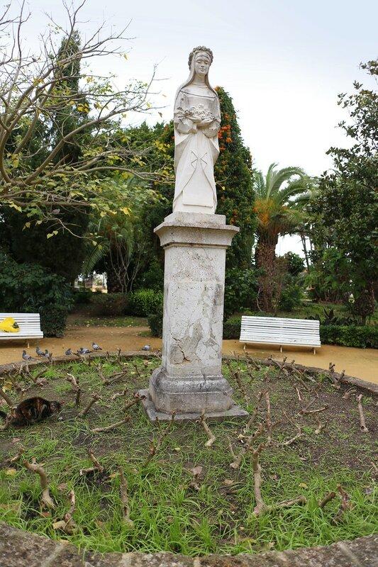 Кадис. Парк Хеновеса (Parque Genovés)