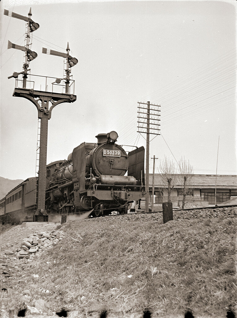 Steam Locomotive D50-239, 1930s Japan