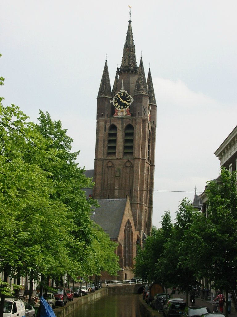 Башня Bedum , Нидерланды Башня Bedum  в северном голландском городе Bedum, также склоняется бо
