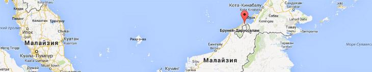 Конченое место. Идя по Бандар-Сери-Бегавану кажется, что в Чернобыле людей в самый пик было больше.