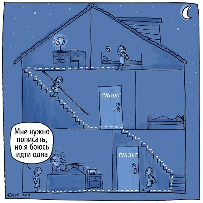 Родительские будни в комиксах Элизабет Тон (16 фото)