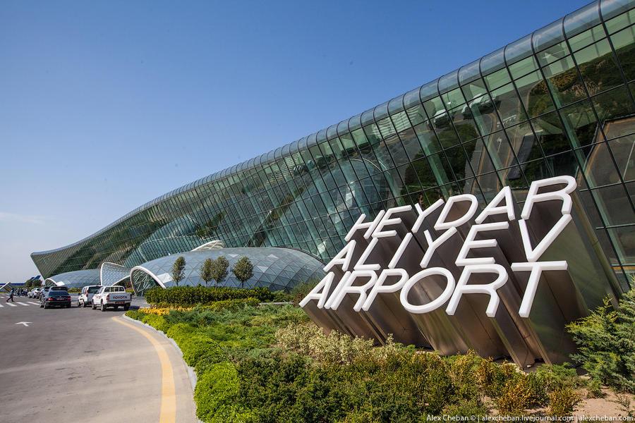 Самый красивый аэропорт в мире: Баку, Азербайджан (42 фото)