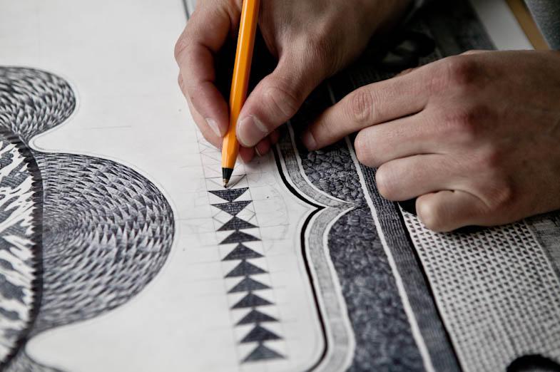 Восхитительные нарисованные ковры (30 фото)