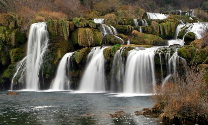 самые красивые водопады: Плитвицкие