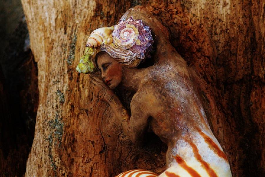Дриады мореного дерева