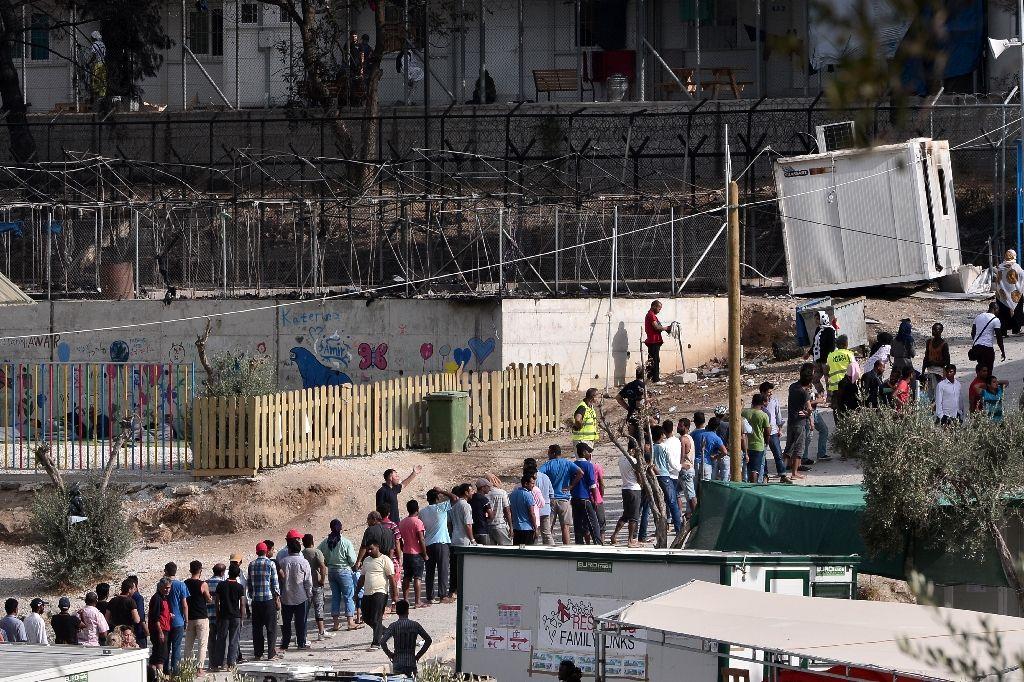 Пожар влагере для беженцев вГреции стал предпосылкой смерти 3-х человек