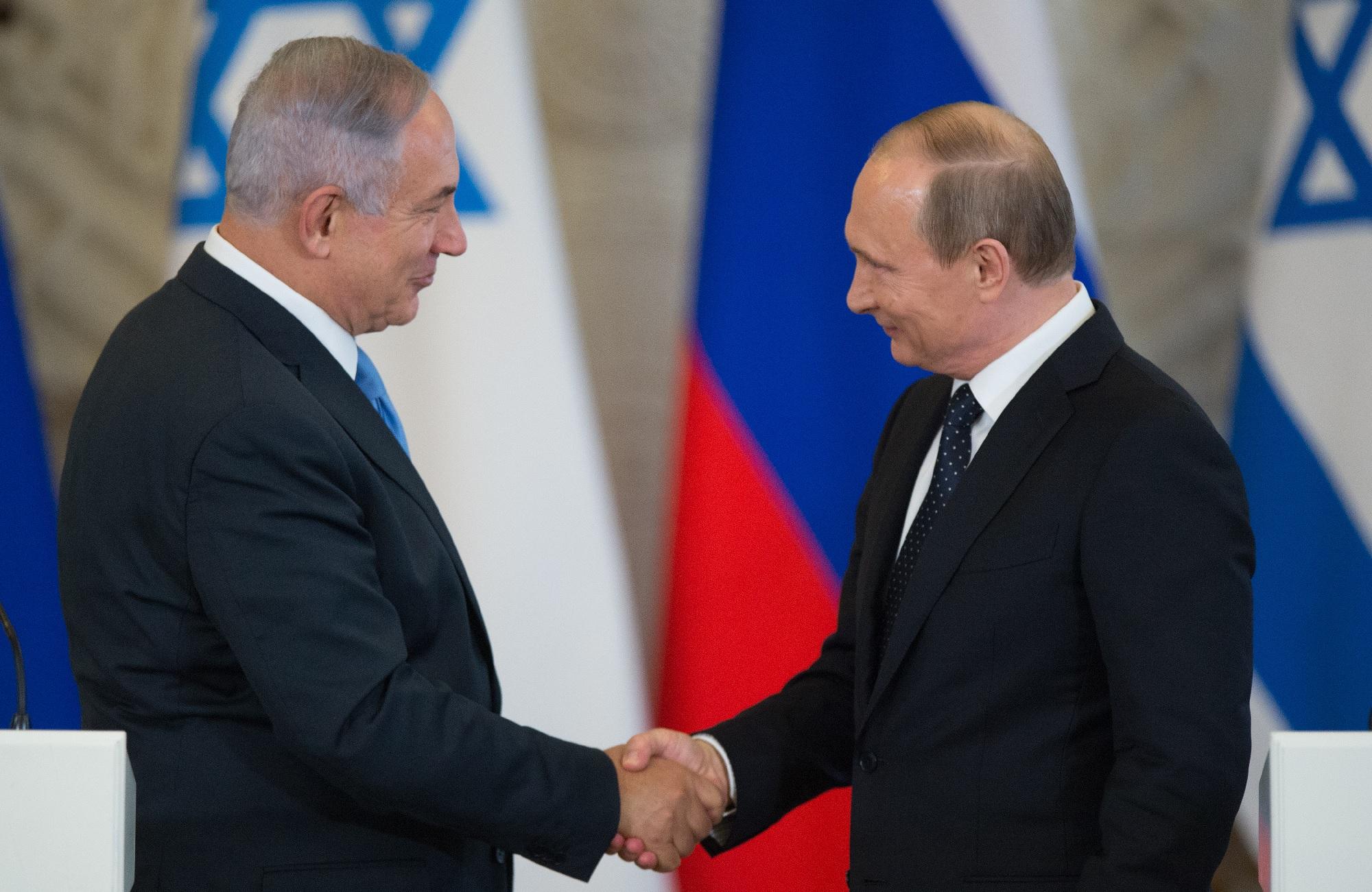 Нетаньяху поведал одоговоренности сРоссией поСирии