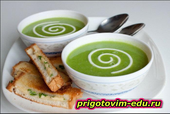 Крем-суп из зелени