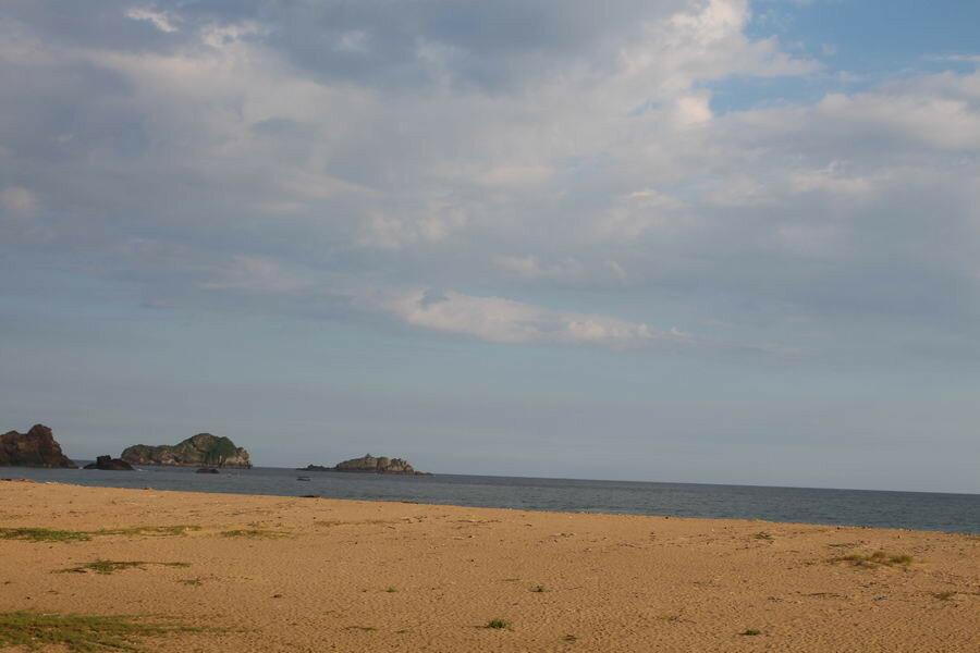 Пляж на Яве