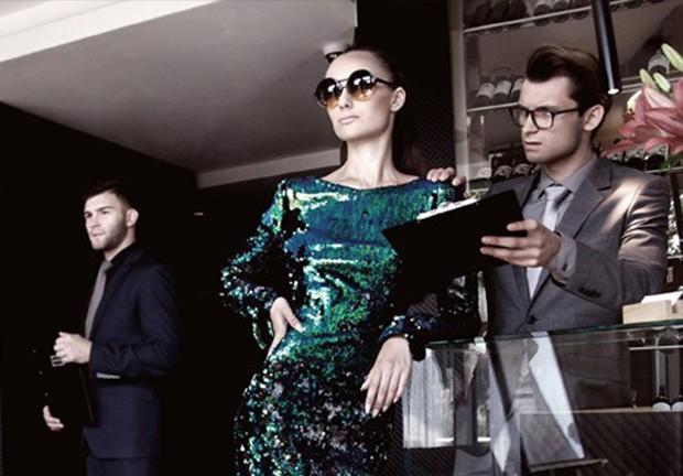 Jet Setter by Pawel Widurski for Design SCENE Magazine Oversized Sunglasses Celebrities are famous f