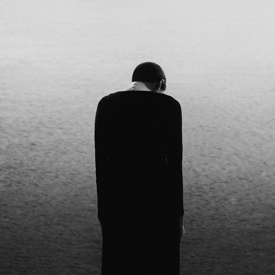 New Black and White Surrealist Self-Portraits by Noell Oszvald