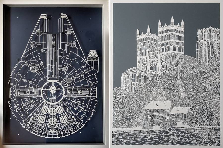 Accurate Paper Art by Pippa Dyrlaga