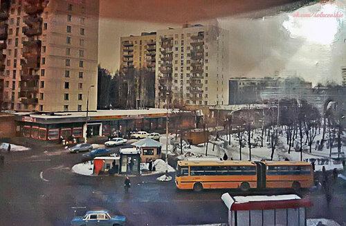 Солнцевский проспект конец 90, #Солнцево фото от Евгеша-Чё Rublitto-Ищи-Блокбастер