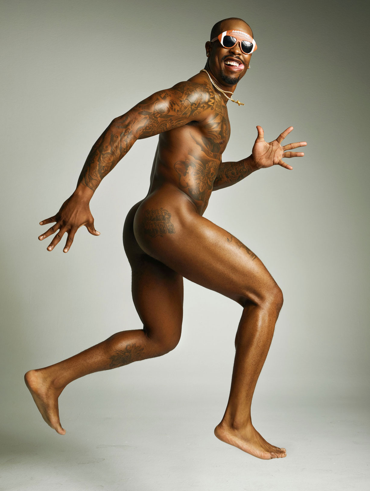ESPN Magazine The Body Issue 2016 - Von Miller / Вон Миллер - Культ тела журнала ESPN
