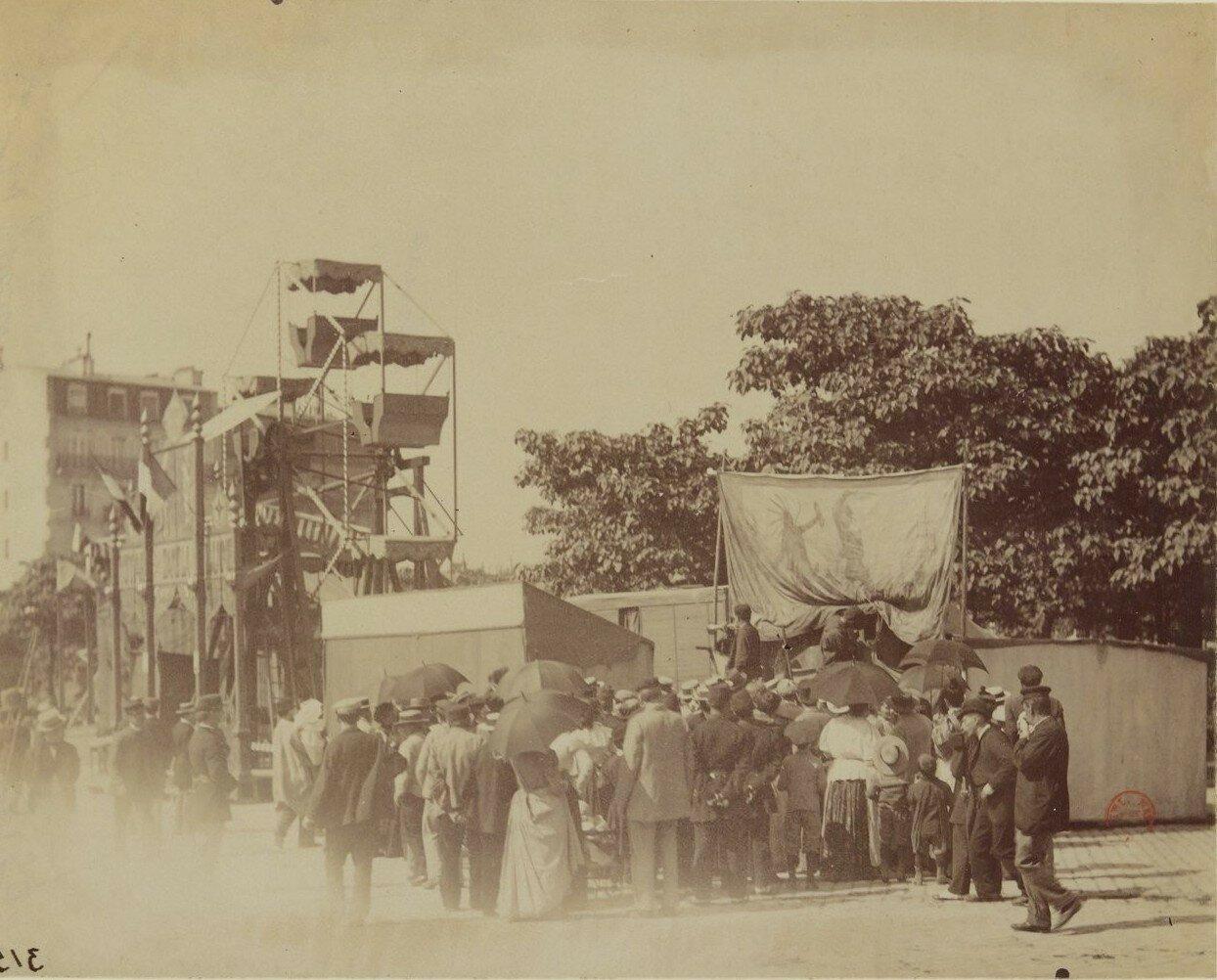 1899. Парижане развлекаются