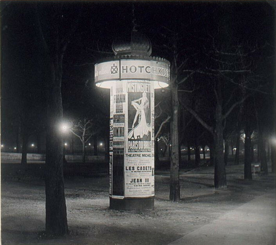 1931. Афишная тумба Моррис