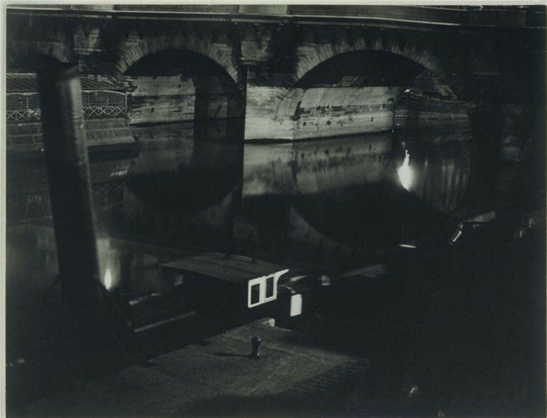 1931. Буксиры и баржа