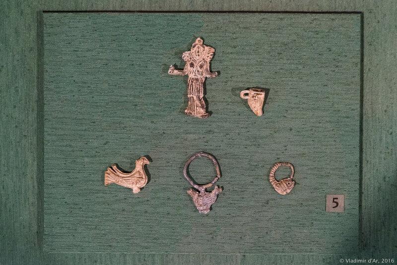 Вотивные изображения - имитации украшений. IV- III вв. до н.э. Ольвия.