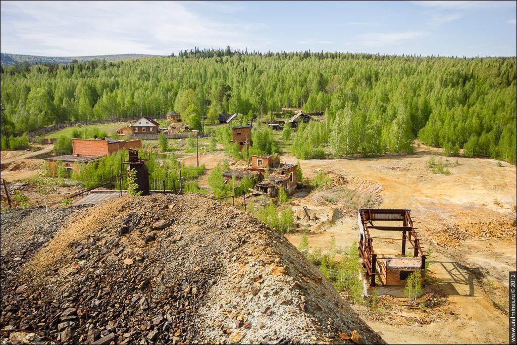 Ломовский медный рудник Кировград