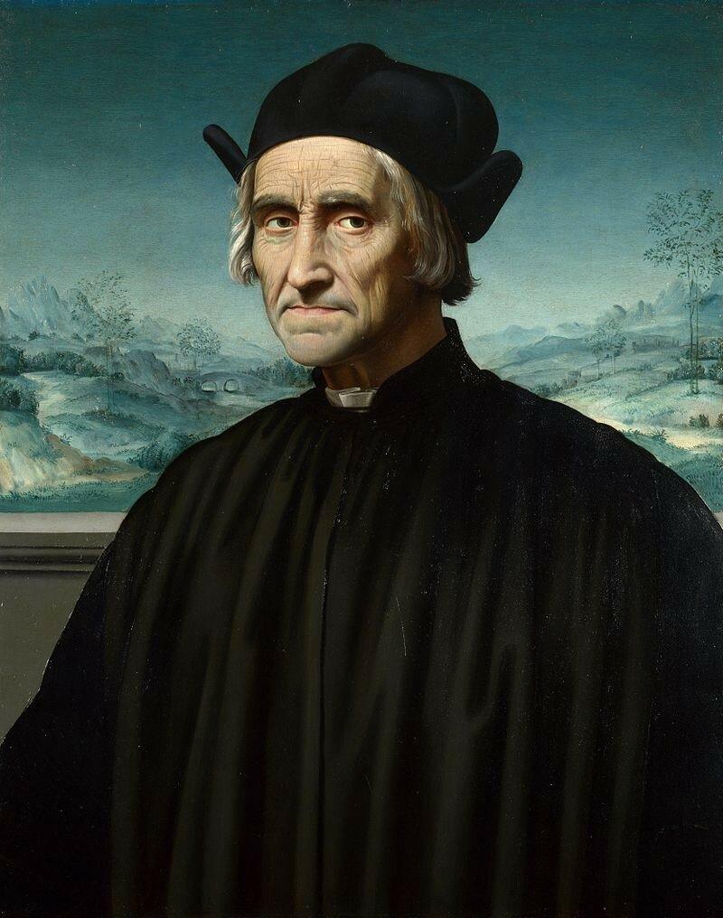 Portrait of Girolamo Benivieni ок. 1510-1520.jpg