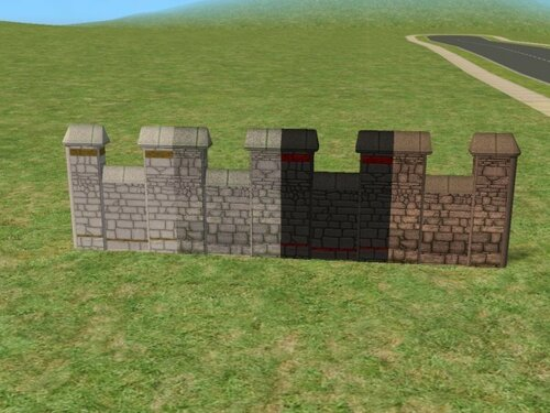 Fairybulosa fences to match the Store Castle Set by Silvain