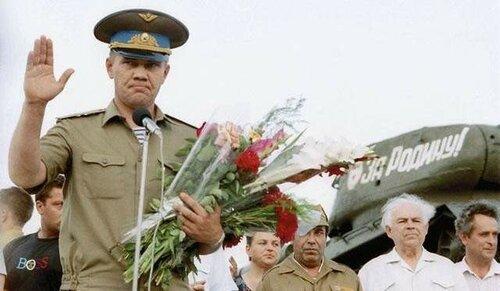 В Приднестровью генералу Лебедю открыли памятную доску