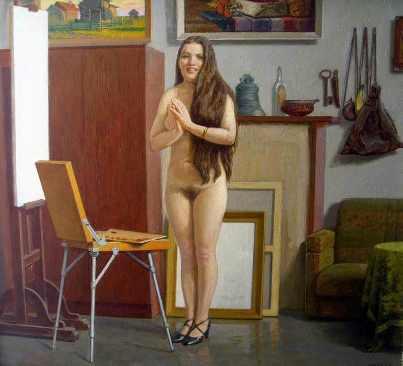 Картина маслом: работы Геннадия Семакова