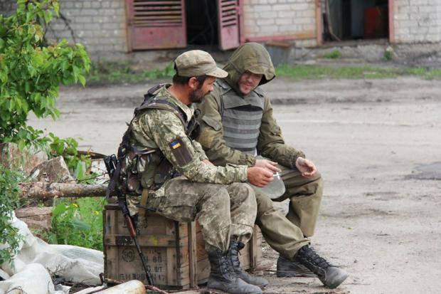 Обстрелы Авдеевки и ДРГ под Мариуполем: Карта АТО за 14 августа