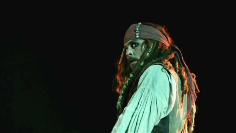 Легенда капитана Джека Воробья.