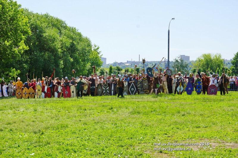Фестиваль Времена и Эпохи 2015, Москва