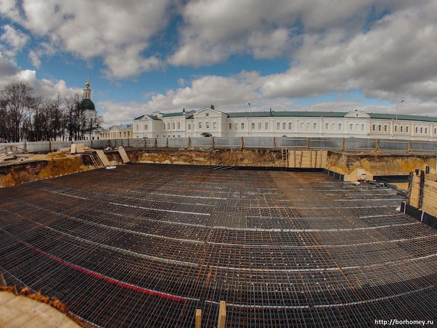 пятиглавку строят в Сарове