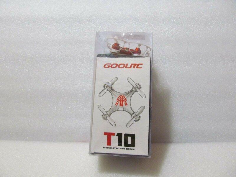 Другие - Китай: CoolRC T10 – «комнатный» квадрокоптер