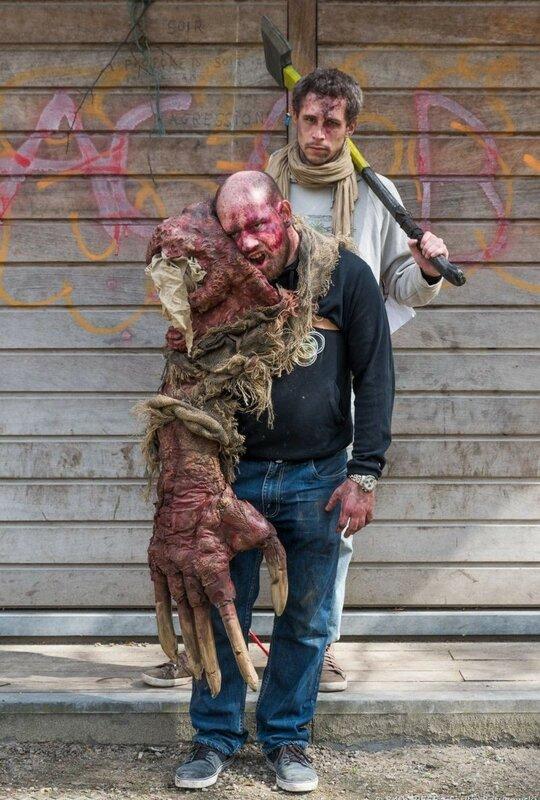 Окровавленные зомби в Брюсселе на фестивале фантастики 0 160794 528670b5 XL